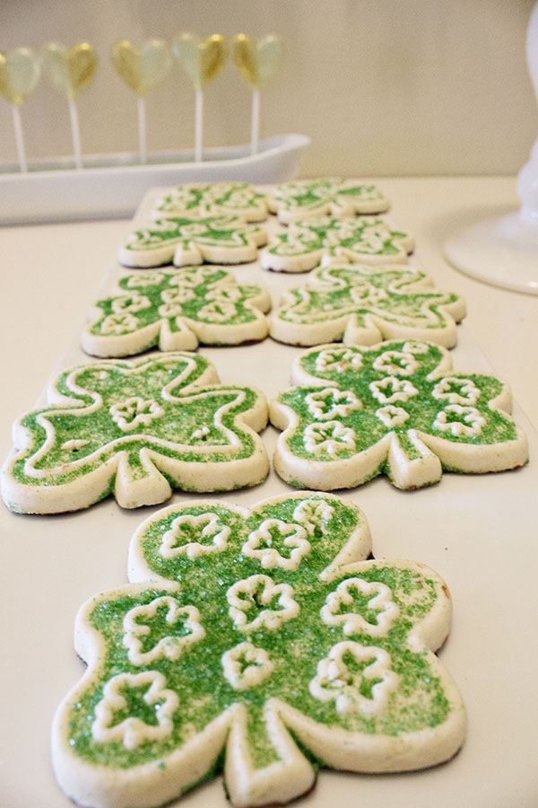 Amazing Shamrock Cookies For Our Lucky In Love