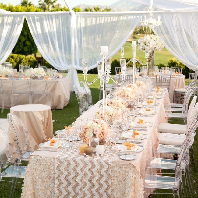 Outdoor Wedding Bathroom Ideas: Beautiful Modern Reception Wedding Inspiration- B. Lovely