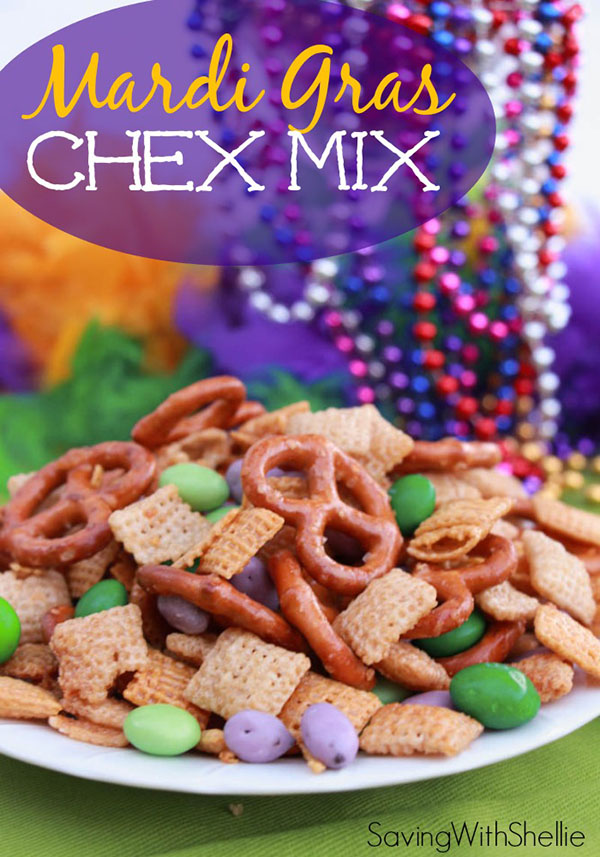 Mardi Gras Chex Mix