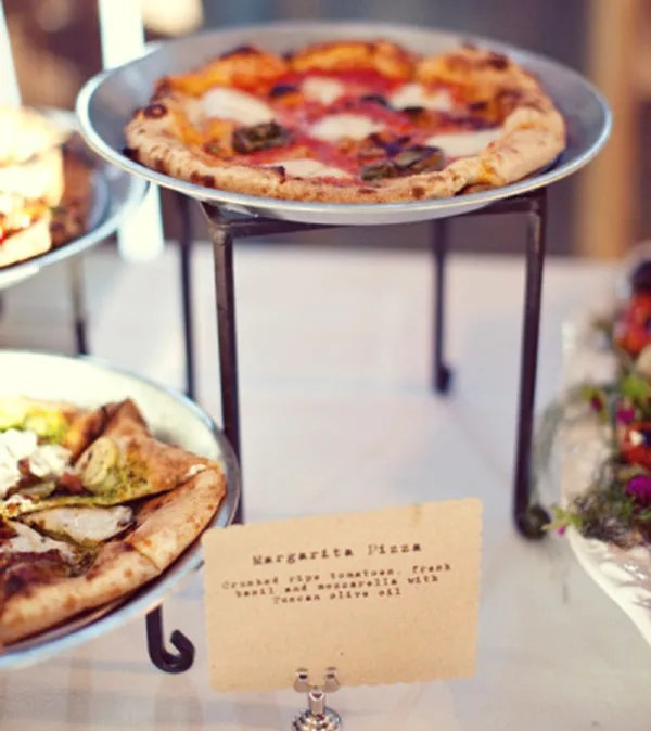 Mini Pizza Buffet for your parties!