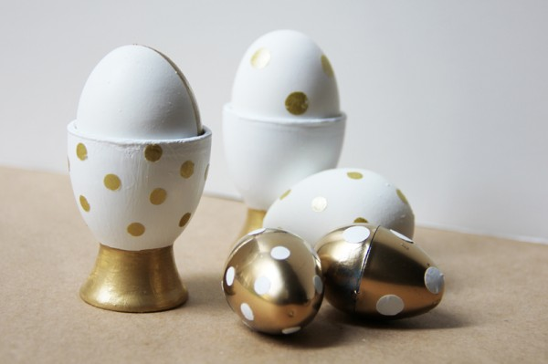 Easy Gold Easter Egg Ideas
