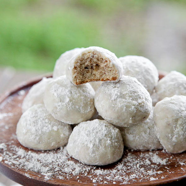 Mexican Wedding cookies, yum!
