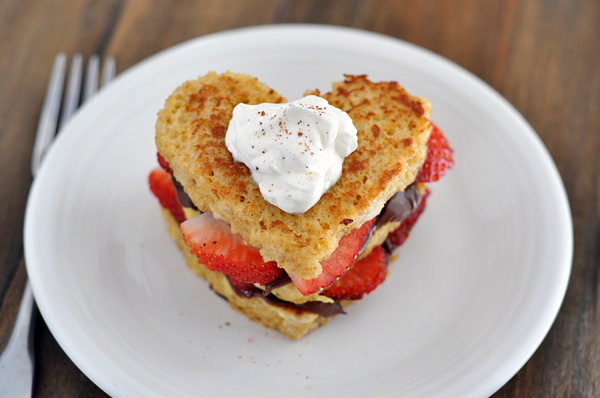 Heart Shaped French Toast!