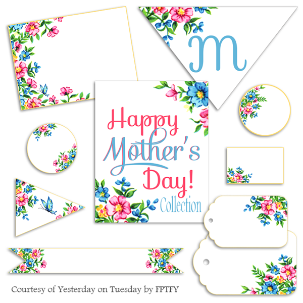 Mother's Day Free printable set