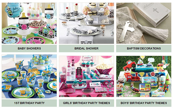 Party Pail Party Supplies