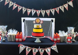 GOOOOAAAALLLL! {Soccer Party Ideas}