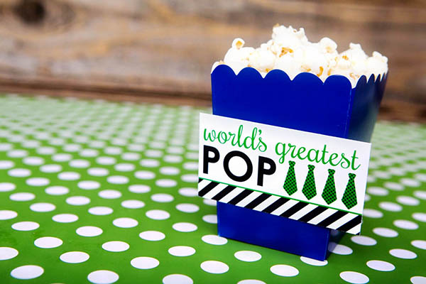 Worlds Greatest Pop For Father's Day- B. Lovely Events