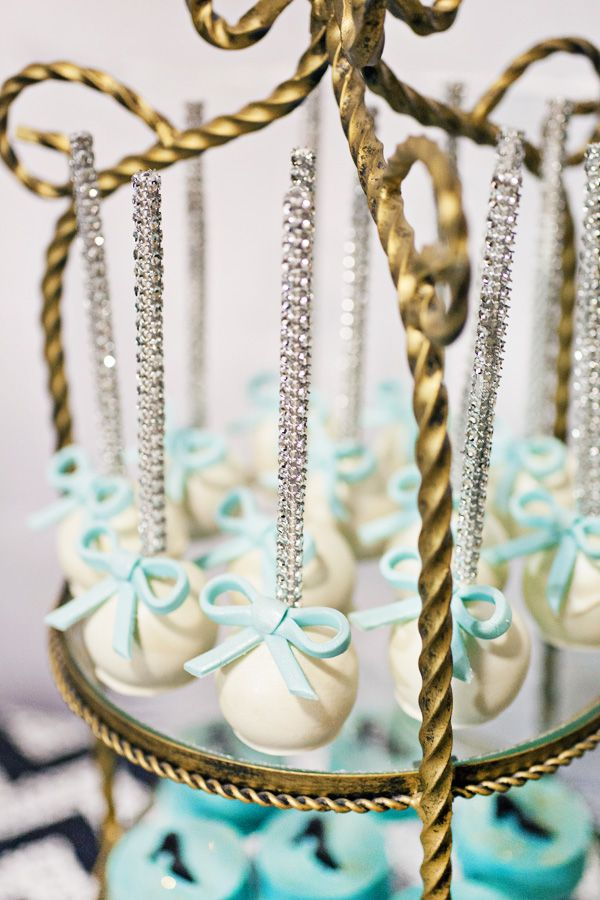 I just love cake pops with sparkle sticks!