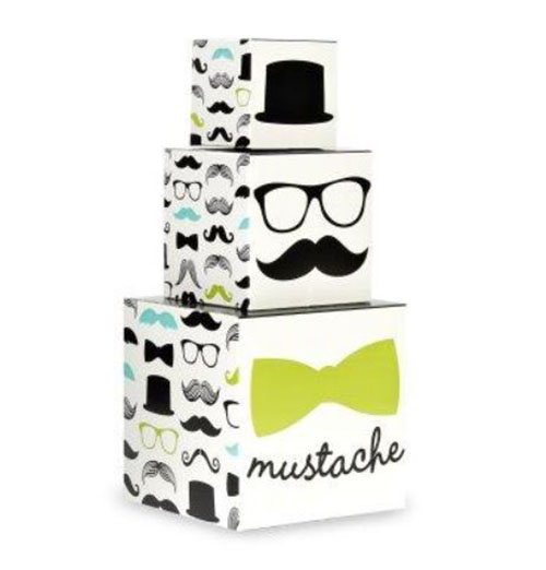Little man Mustache Pary centerpiece