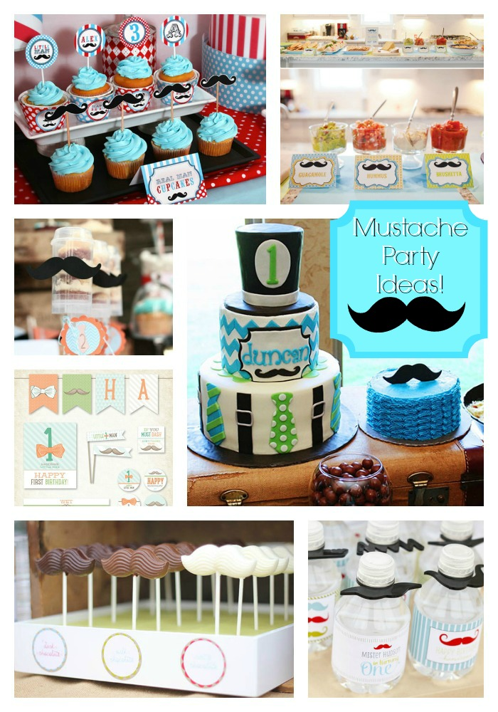 Our Favorite Mustache Party Ideas!