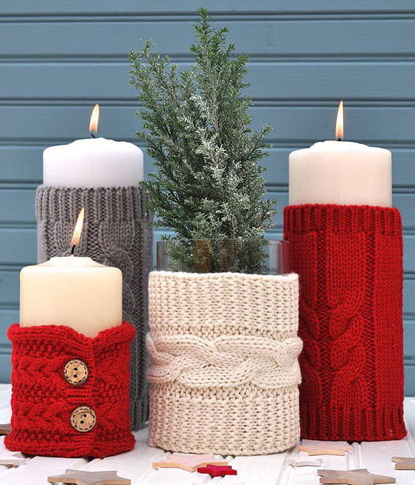 Cozy Sweater Candles