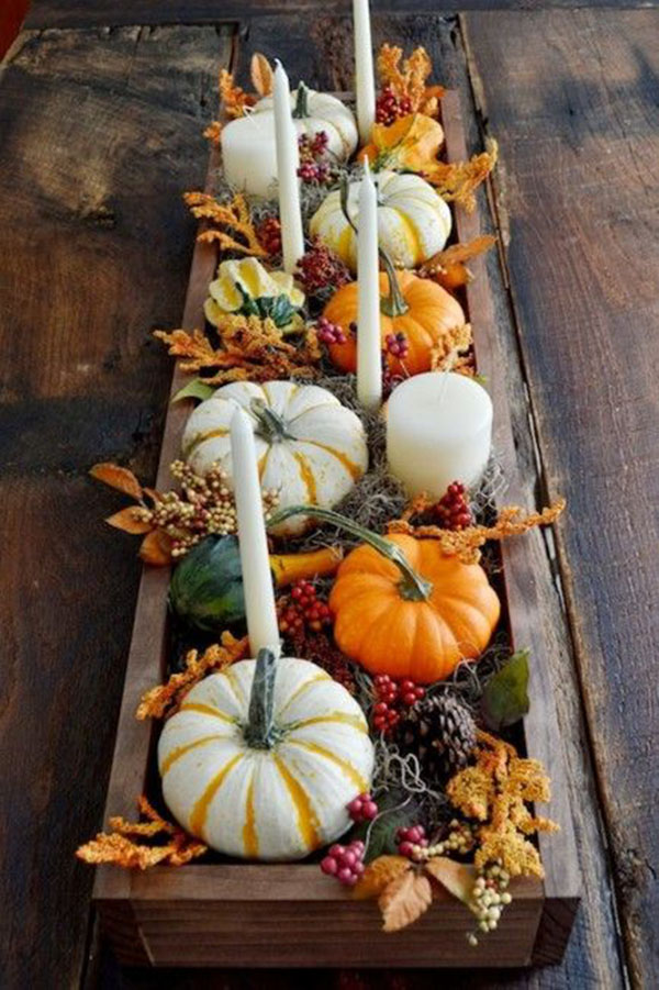 Love This Pumpkin Centerpiece