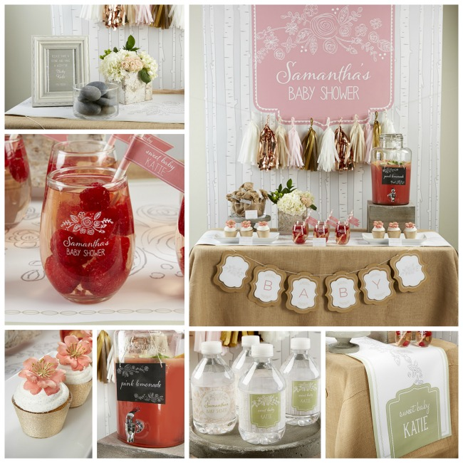 Super Cute Rustic Baby Shower