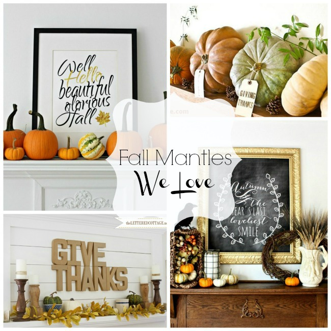 Fall Mantles We Love