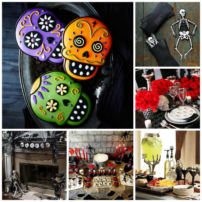 Love These Halloween Skull & Skeleton Ideas