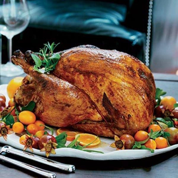 Charming Citrus Themed Thanksgiving Turkey Decorations