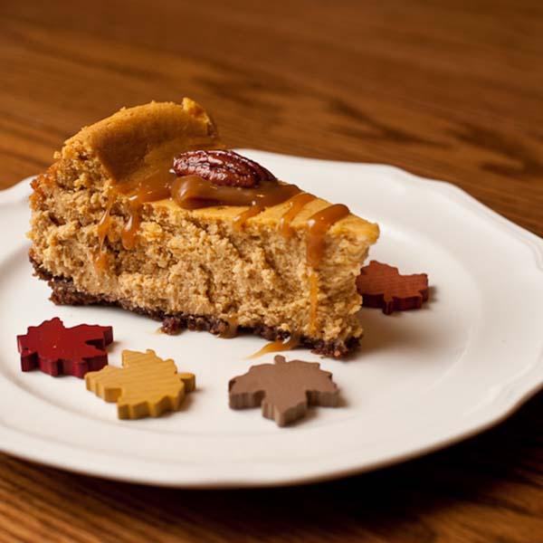 OMG pumpkin cheesecake