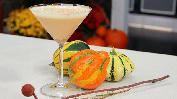 Pumpkin Martini For Thanksgiving!