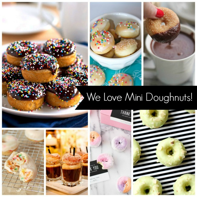 We Love Mini Doughnuts!