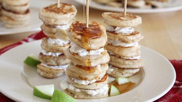 yum! mini pancakes