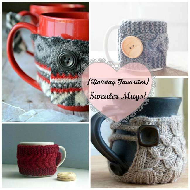 Holiday Favorites- Sweater Mugs! - B. Lovely Events