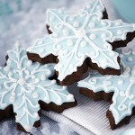 Day 5-Holiday Favorites- Snowflake Cookies