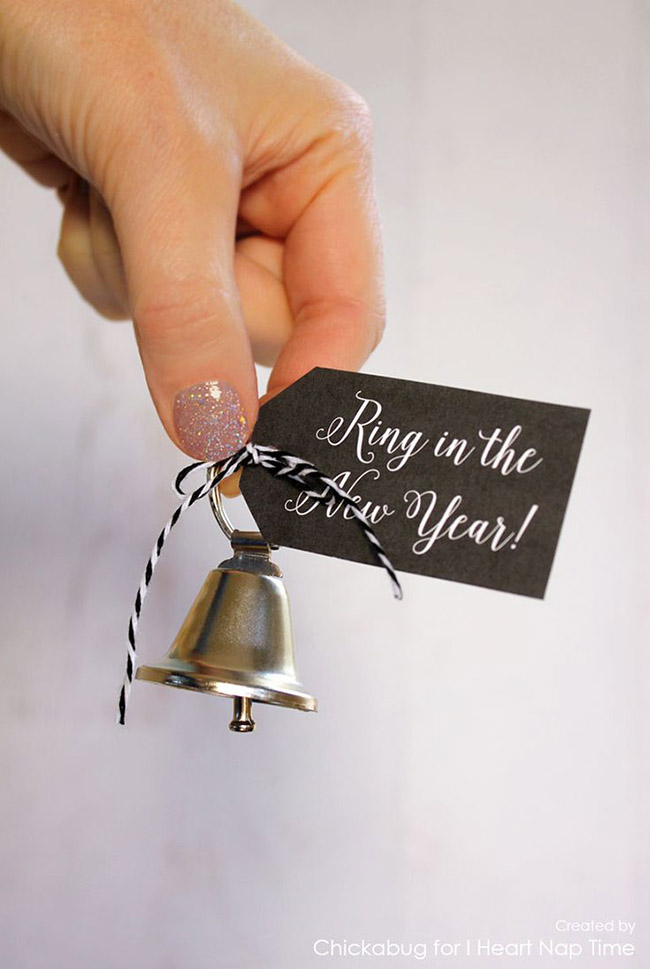 Ring In The New Year Printable