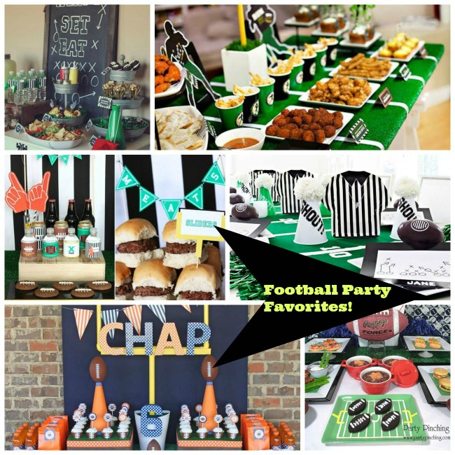 Football Parties We Love! - B. Lovely Events