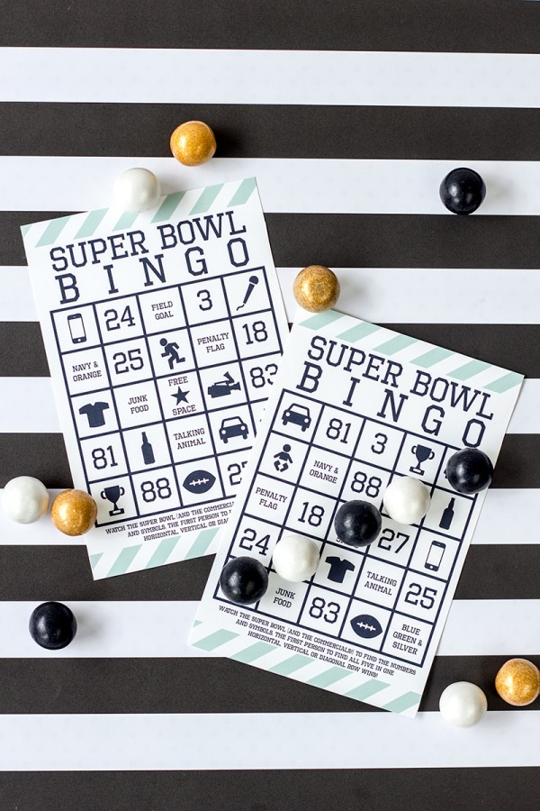 Fun Super Bowl party game!