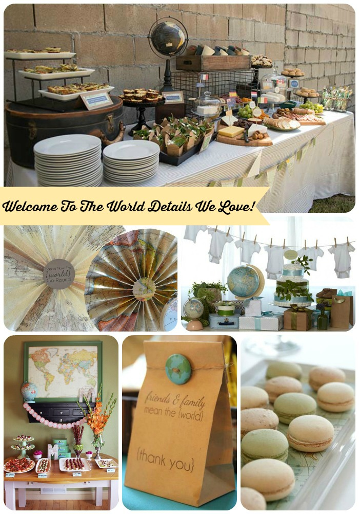 Welcome To The World Baby Shower Ideas- B. Lovely Events