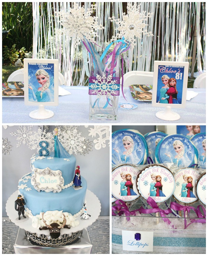 Frozen Party Loveliness B Lovely Events