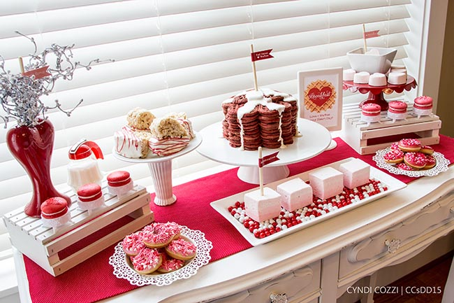 Lovely Valentines Day Breakfast Party!