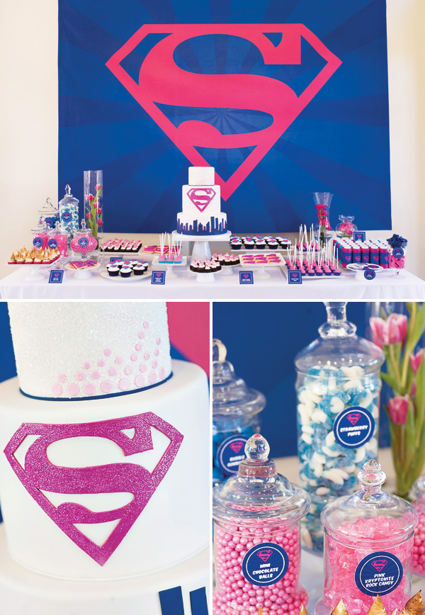 Supergirl Birthday Party ideas
