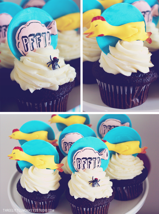 April Fools Cupcakes!