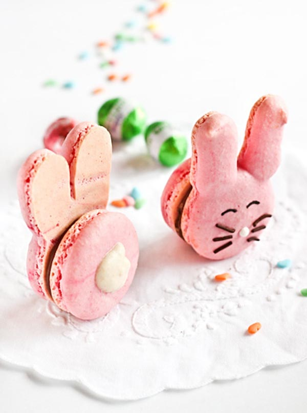 Easter Bunny Macaroons!