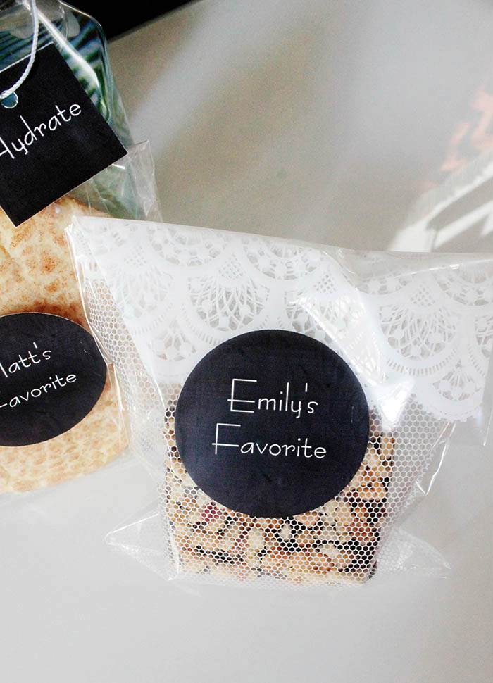 Favorite Things Welcome Bag Treats -B. Lovely Events