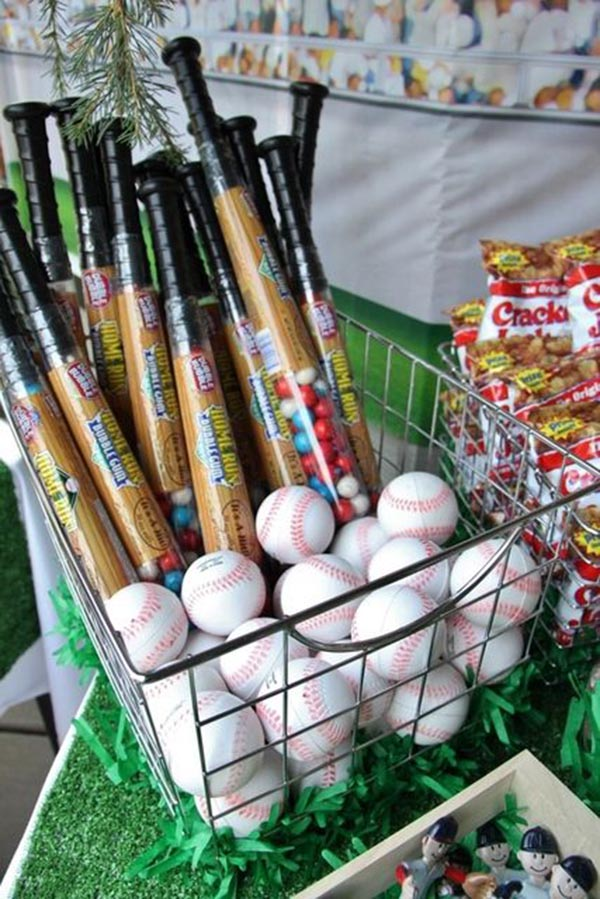 Mini baseball Bat favors!