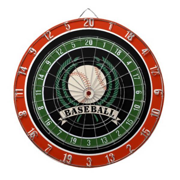 Baseball Dart Board Gift Idea For Father's Day