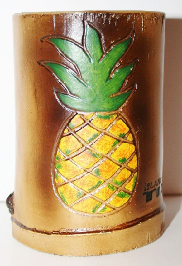 Cute Little Pineapple cup for a pineapple party!
