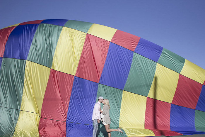 Hot Air Balloon Engagement Shoot(3)- B. Lovely Events