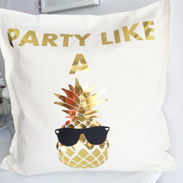 Party Like A Pineapple Pillow- Sweet!