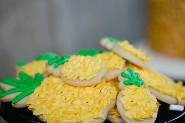 Pineapple Party Cookies!
