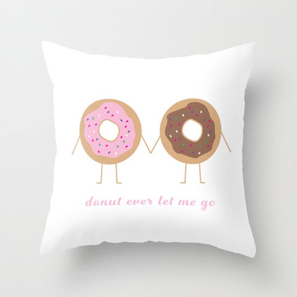 This Donut Pillow is so cute!