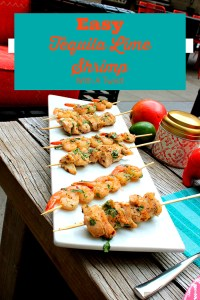 Twist On Tequila Lime Shrimp!