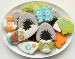 Watch Out! It's Shark Cookies!