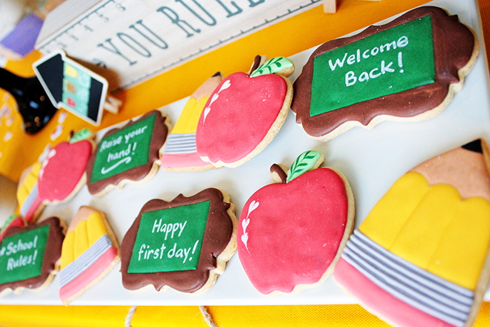 Cute back To School Cookies!