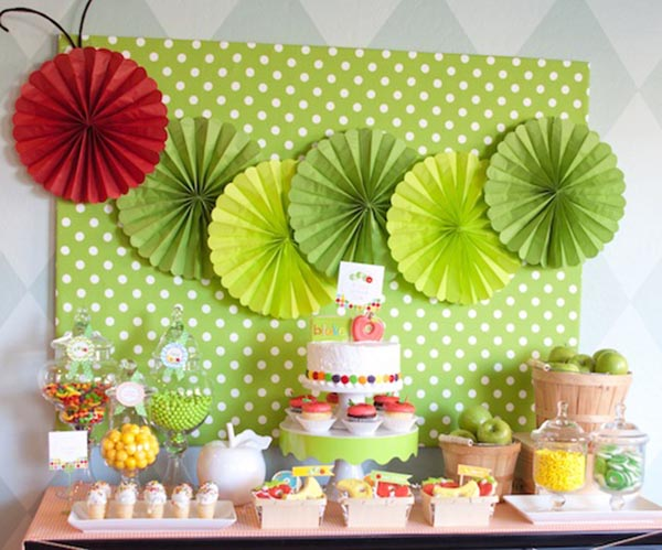Very Hungry Caterpillar Dessert Bar!