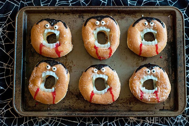 Adorable Vampire Donuts!