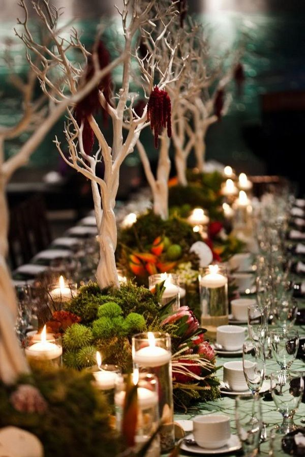 10 lovely fall wedding centerpieces b lovely events fabulous fall wedding centerpiece junglespirit Choice Image