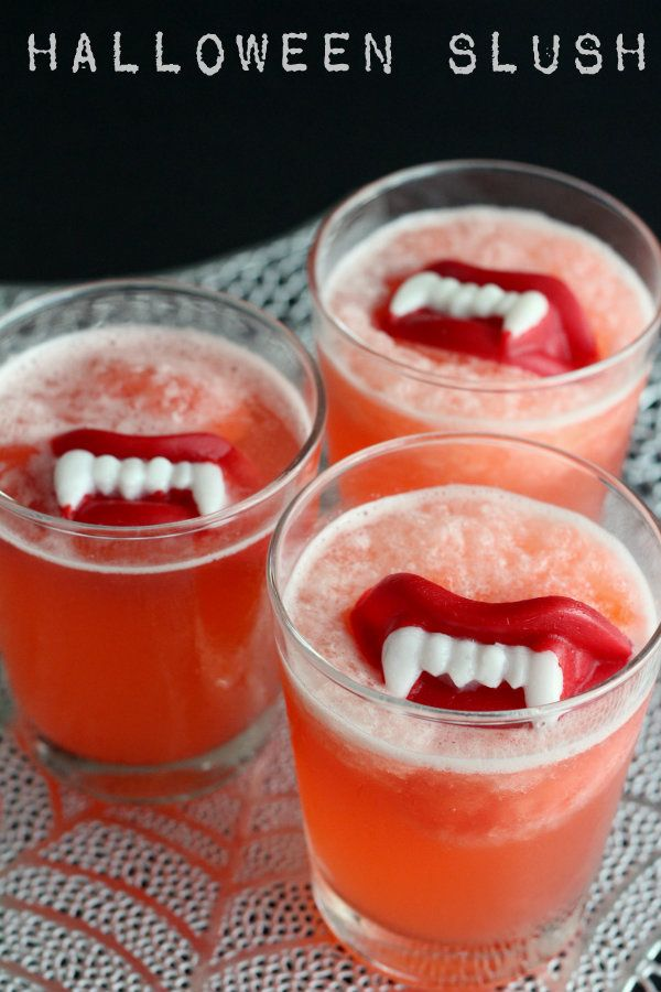 Fang-tabulous Halloween drinks